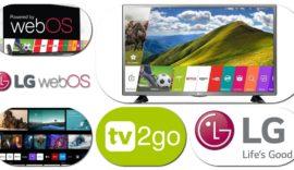 tv2go aplikácia aj pre smart TV LG